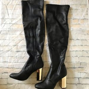 Raydan Over the Knee Heeled Boots